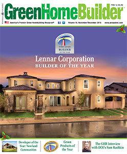 Green Home Builder magazine