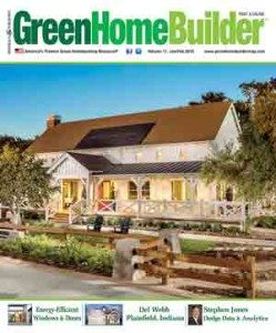 GreenHome Builder magazine
