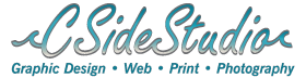 C Side Studio Print & Web Graphic Designern