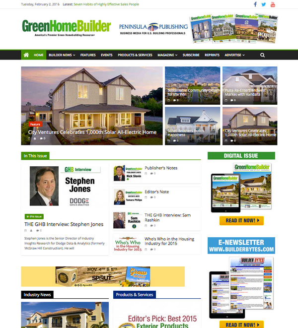 greenhome builder