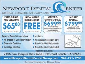 newport dental center ad