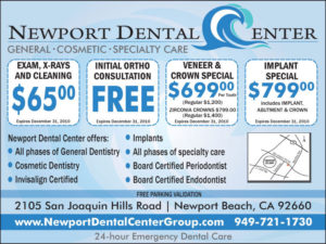 newport dental center ad