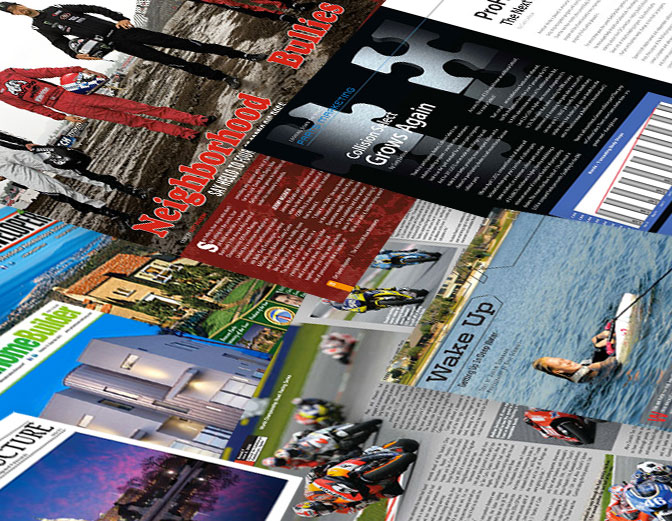 Advertising & Magazine Design