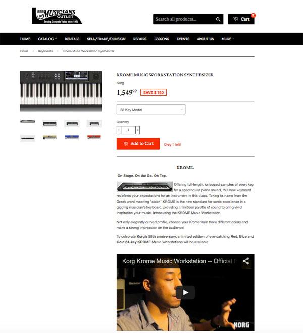 musician warehouse