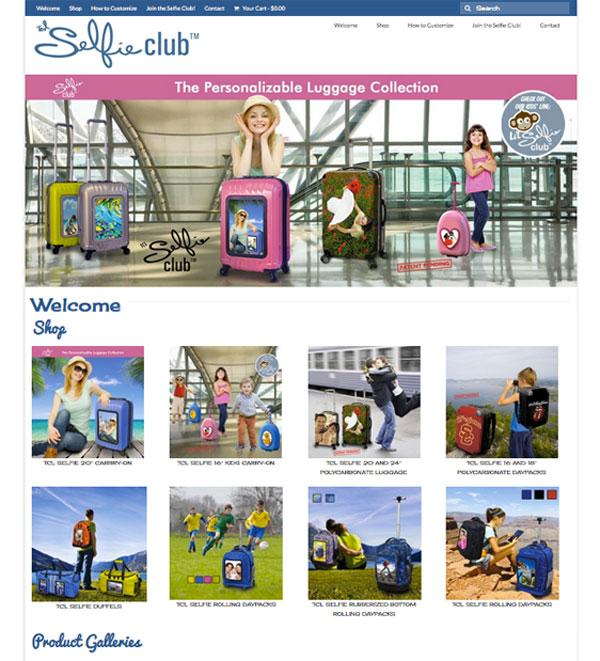 selfie club usa luggage