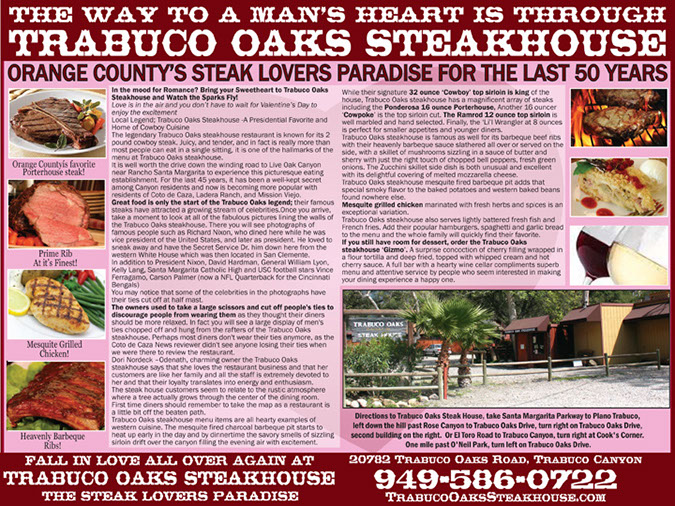 food ad trabuco oaks