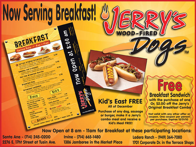 food ad jerry's dogs