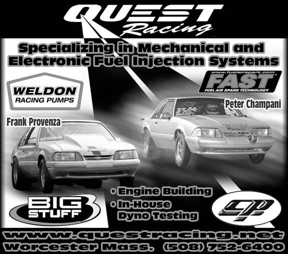 automotive ad quest racing