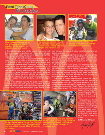 Moto Kids Cycle News article
