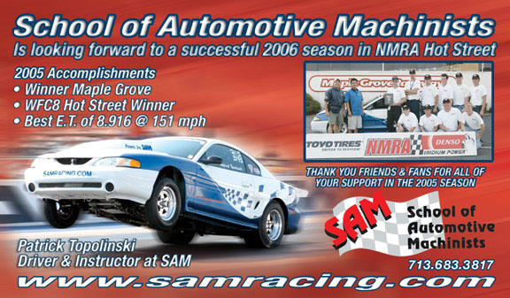 automotive ad samracing