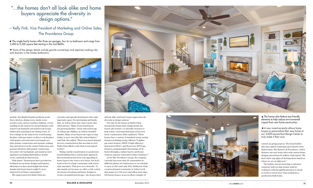 BD Magazine layout