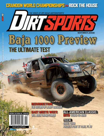 dirt sports magazine cover