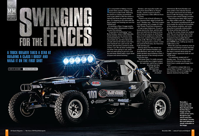 dirt sports magazine article
